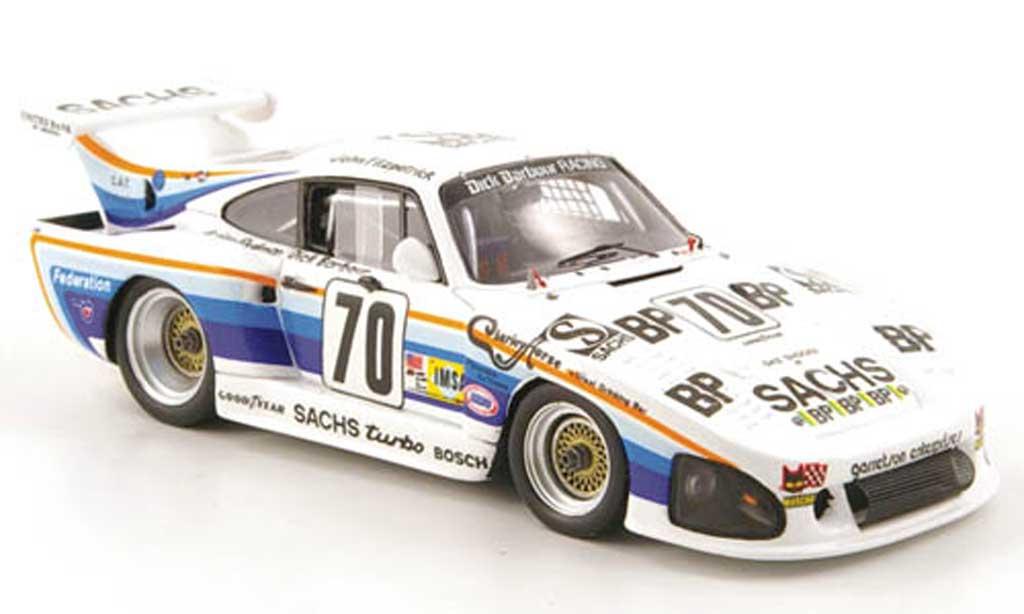 Porsche 935 1980 1/43 Spark K3 No.70 Sachs 24h Le Mans miniatura