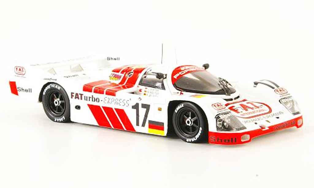 Porsche 993 Turbo 1/43 Spark 962 1 No.17 FA 24h Le Mans miniature