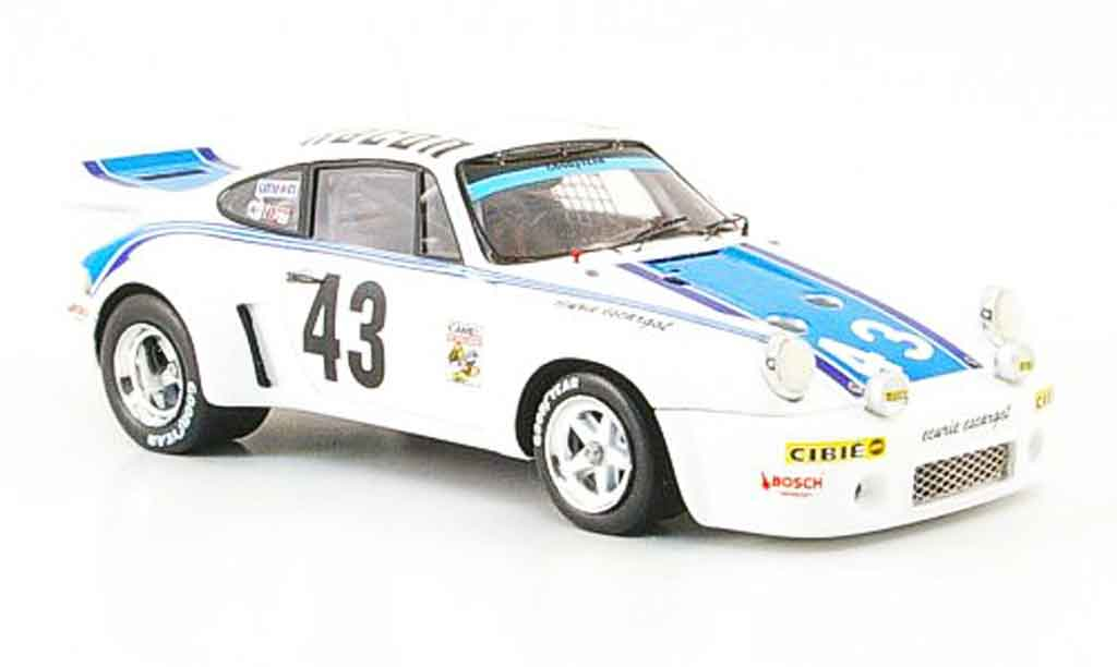 Porsche 930 RSR 1/43 Spark Carrera No.43 Racon 24h Daytona 1977 diecast model cars