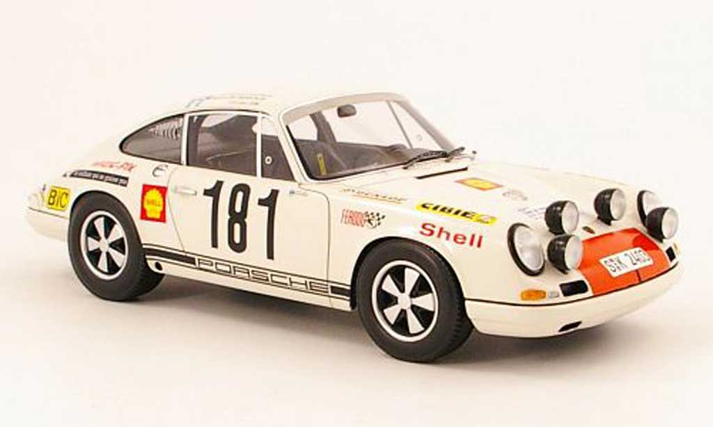 Porsche 911 R 1/18 Spark no.181 tour de france auto 1969 g.larrousse / m.gelin diecast model cars
