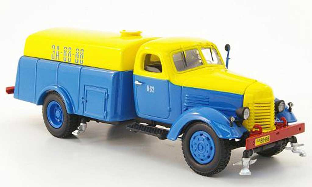 Zis 150 1/43 DIP Models PM-8 Strassenreinigrung bleu/jaune miniature