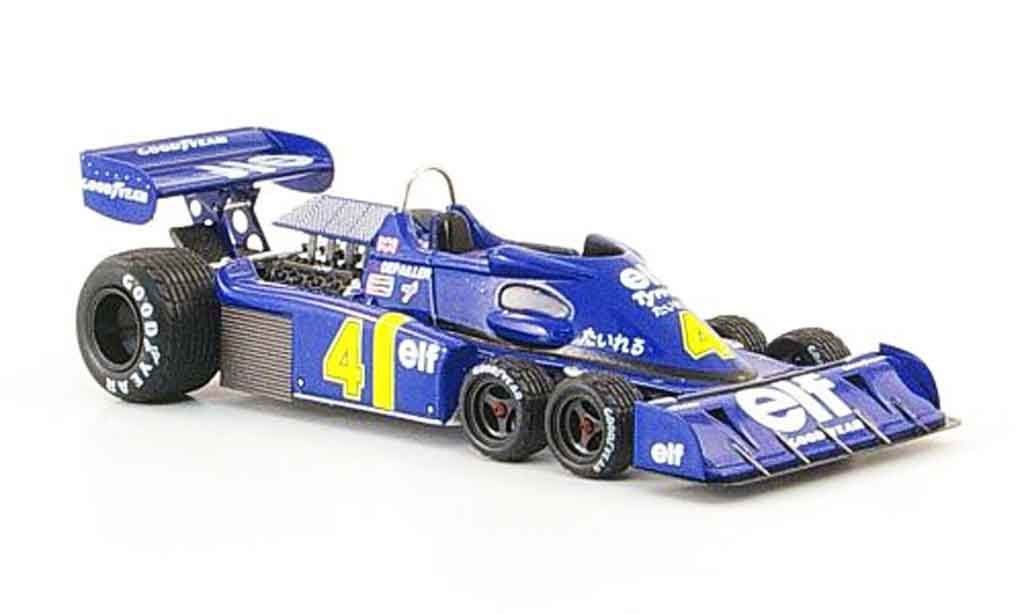 Tyrrell P34 1/43 Reve Collection No.4 P.Depaillier GP Japan 1976 miniature