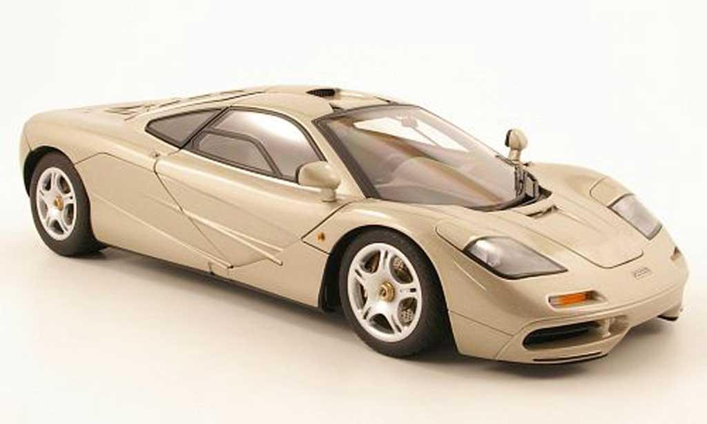McLaren F1 1/18 Autoart beige 1994 miniature