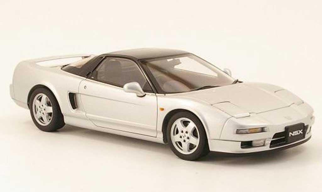Honda NSX 1990 1/18 Autoart grey metallisee diecast model cars