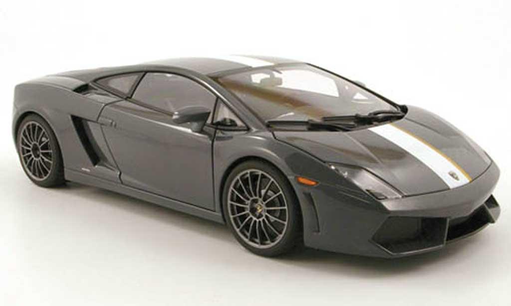Lamborghini Gallardo LP550-2 1/18 Autoart balboni gray 2009 diecast