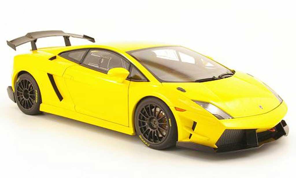 Lamborghini Gallardo LP560-4 1/18 Autoart super trofeo yellow 2009 diecast
