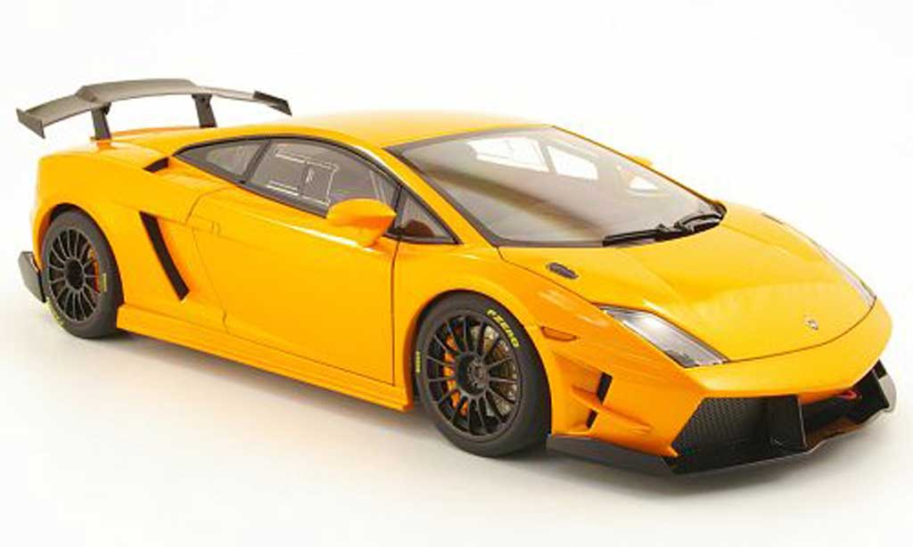 Lamborghini Gallardo LP560-4 LP560-4 1/18 Autoart super trofeo orange 2009 miniature