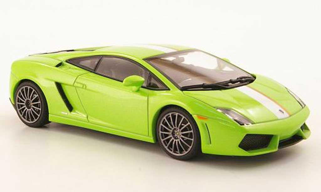 Lamborghini Gallardo LP550-2 1/43 Autoart Balboni verte 2009 miniature