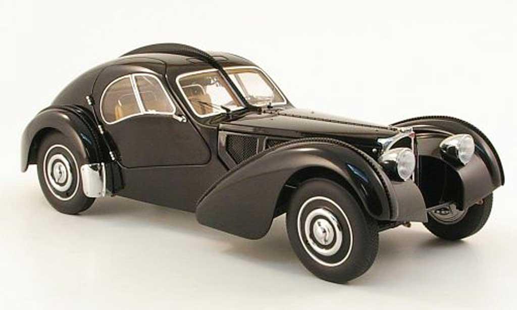 Bugatti 57 SC 1/18 Autoart SC atlantic noire 1938 miniature