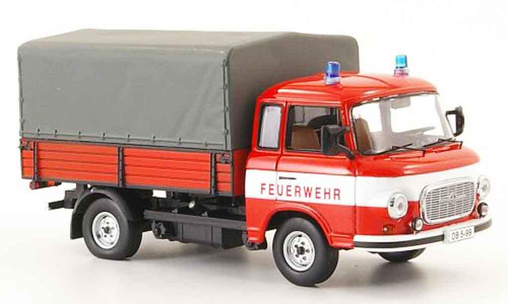 Barkas B 1000 1/43 IST Models Pritsche pompier PP LKW miniature
