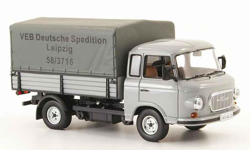 Barkas B 1000 1/43 IST Models Pritsche VEB Deutsche Spedition Leipzig miniature
