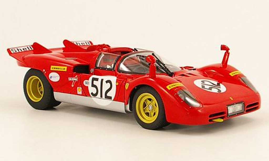 Ferrari 512 S 1/18 Hot Wheels no.512  besitzer nick mason (pink floyd) miniatura