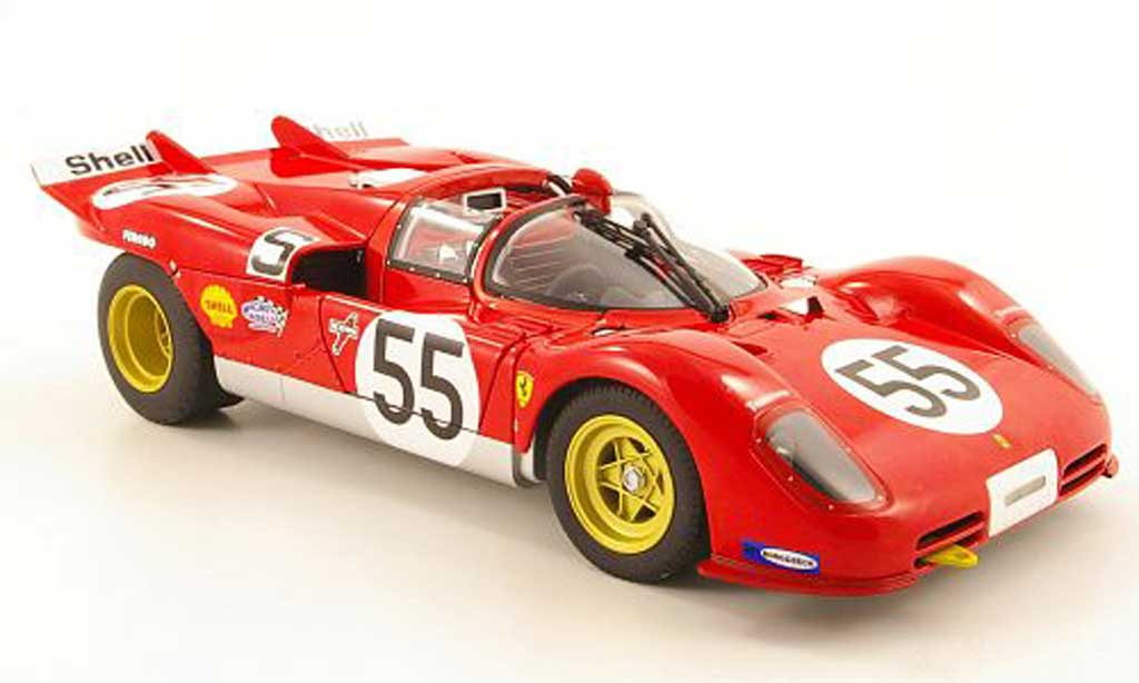 Ferrari 512 S 1/18 Hot Wheels Elite no55 1000km nurburgring 1970 surtees/vaccarella miniature