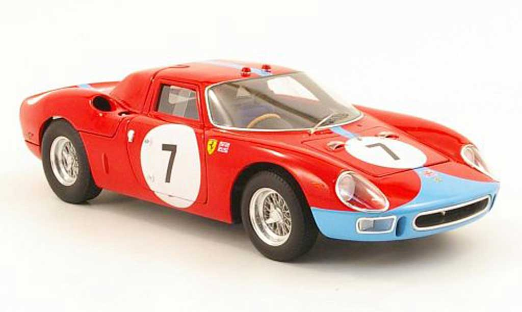Ferrari 250 LM 1964 1/18 Hot Wheels Elite no7 12h reims miniature