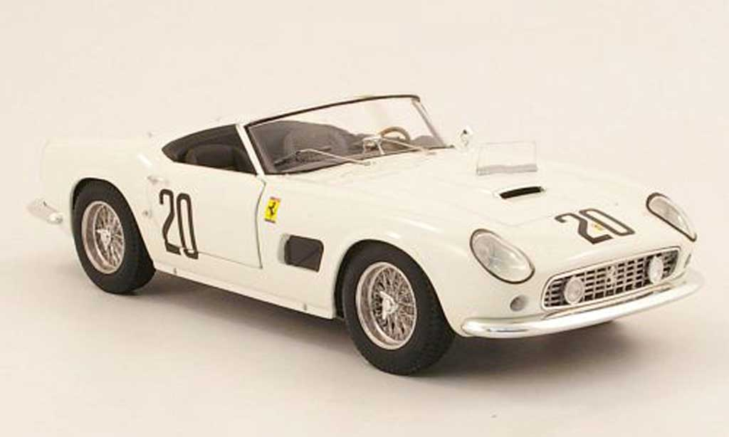 Ferrari 250 GT California 1/18 Hot Wheels Elite swb no20 nart 24h le mans 1969 sturgis / schlesser miniature