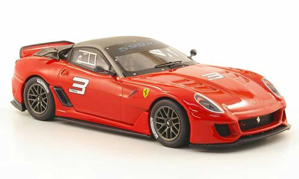 Ferrari 599 XX 1/43 Hot Wheels Elite No.3 (Elite) diecast model cars