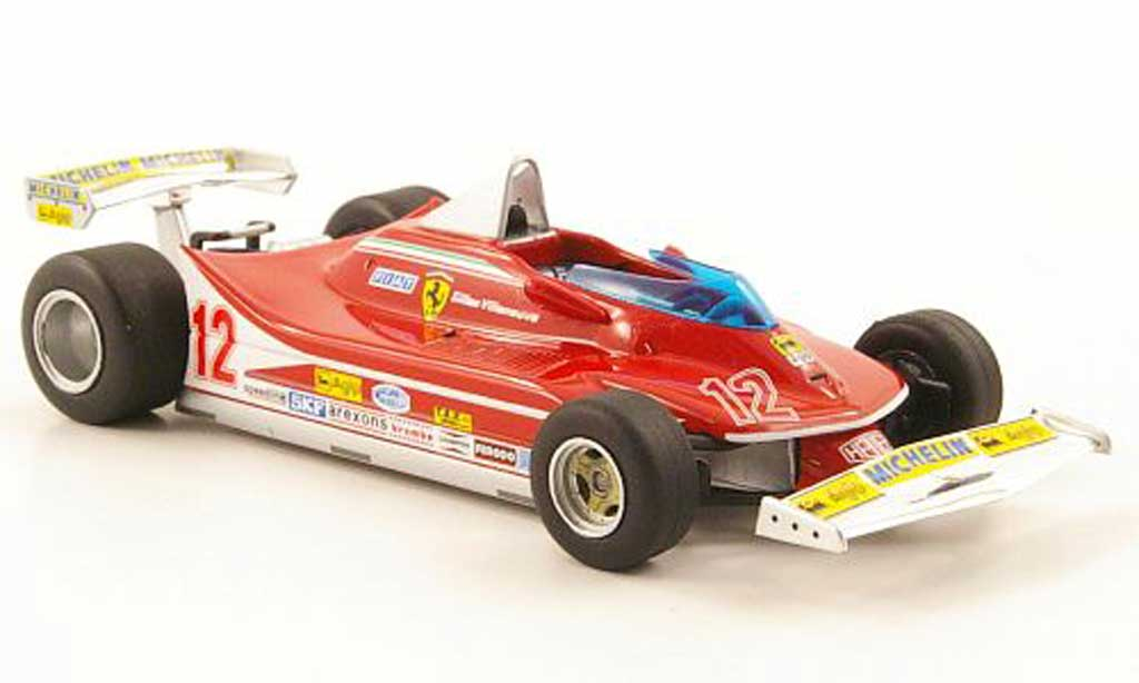 Ferrari 312 T4 1/43 Hot Wheels Elite No.12 GSudafrika (Elite) 1979 modellino in miniatura