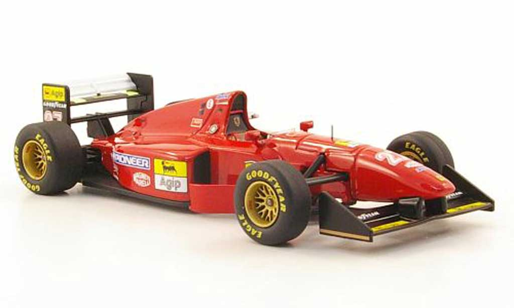 Ferrari 412 1/43 Hot Wheels Elite T1 No.27 J.Alesi GP England (Elite) 1994 modellino in miniatura