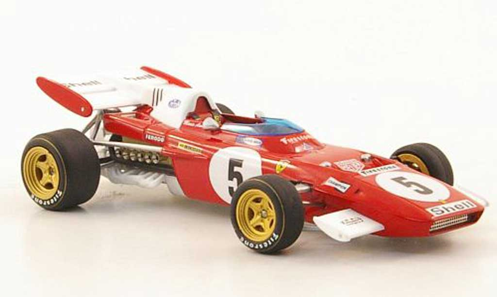 Ferrari 312 B 1/43 Hot Wheels Elite No.5 M.Andretti GDeutschland (Elite) 1971 diecast model cars