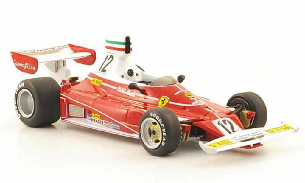 Ferrari 312 T 1/43 Hot Wheels Elite No.12 N.Lauda GP Italien (Elite)  1975 miniature