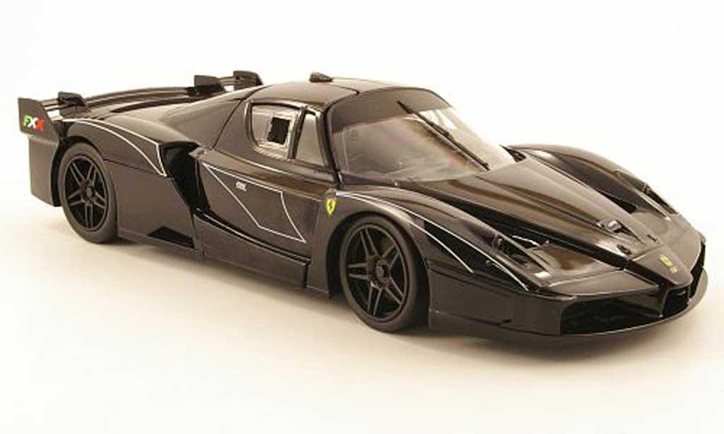 Ferrari Enzo FXX 1/18 Hot Wheels evoluzione frank mueller black diecast