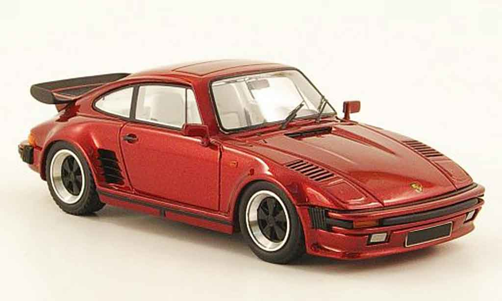 Porsche 911 Turbo 1/43 Look Smart Flatnose rouge miniature