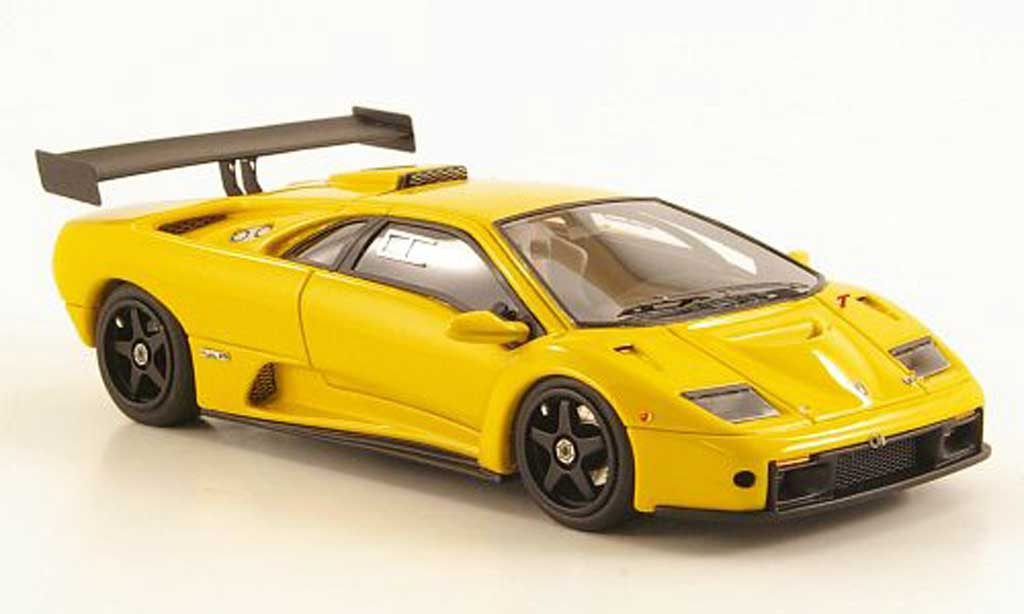 Lamborghini Diablo GTR 1/43 Look Smart yellow 1999 diecast model cars
