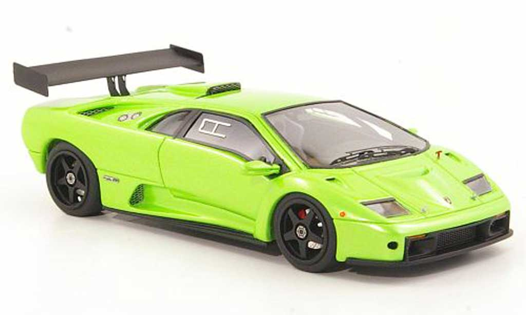 Lamborghini Diablo GTR 1/43 Look Smart grun 1999 diecast model cars