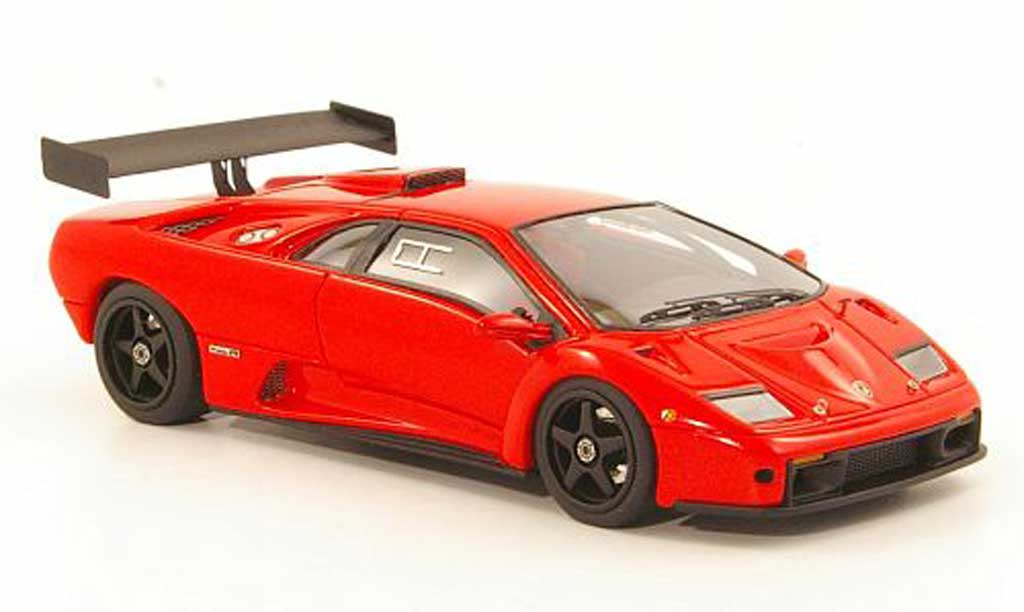Lamborghini Diablo GTR 1/43 Look Smart rouge 1999 miniature