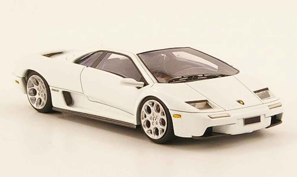 Lamborghini Diablo 6.0 1/43 Look Smart white 2001 diecast model cars