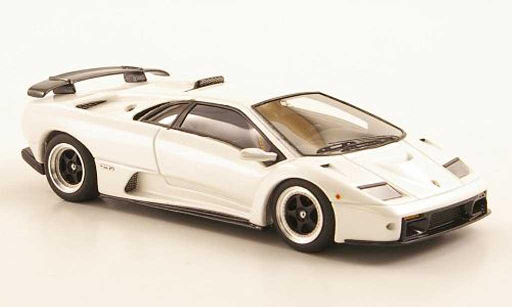 Lamborghini Diablo GT 1/43 Look Smart white Auto Salon Genf diecast model cars