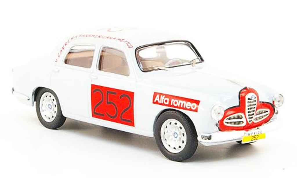 Alfa Romeo 1900 Ti 1/43 M4 no.252 carrera panamericana mexico 1954 miniature
