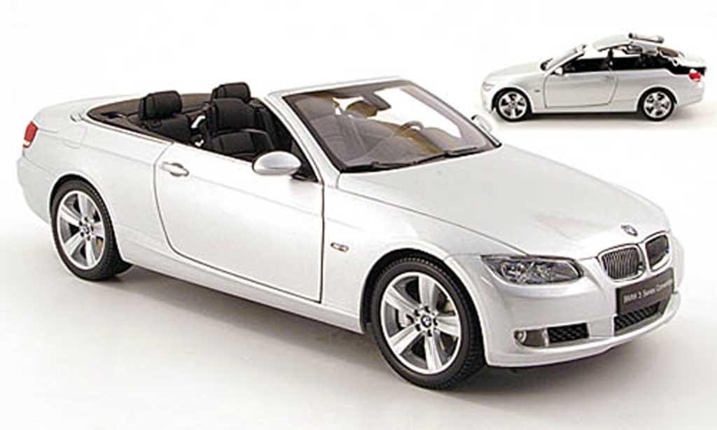 Bmw 335 1/18 Kyosho i cabriolet (e93) grise miniature