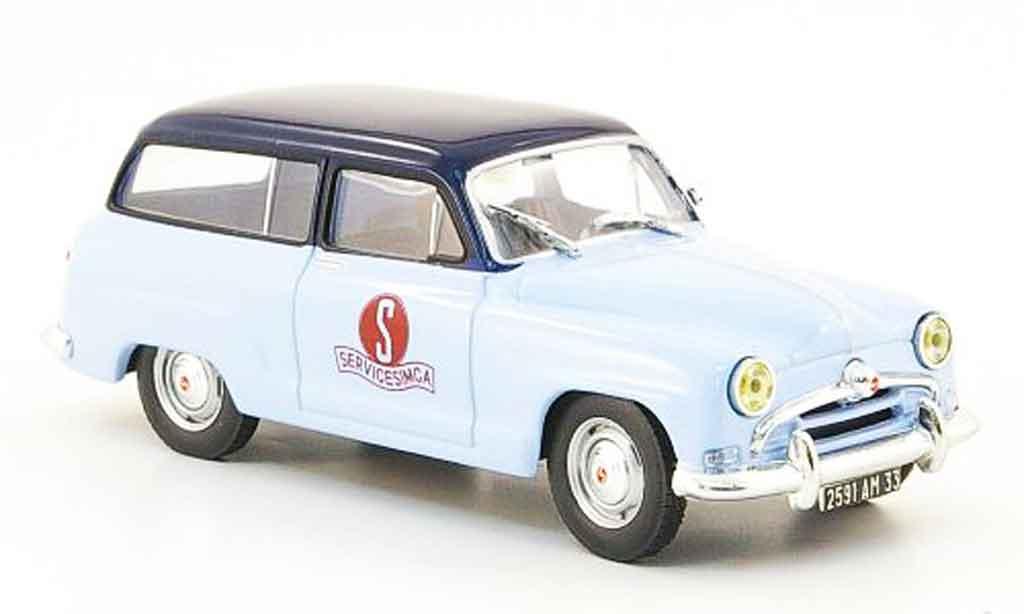 Simca Aronde 1/43 IXO chatelaine service miniature