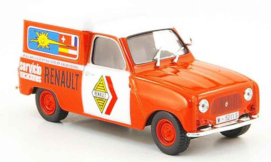 Renault 4 F4 1/43 IXO f service spanien diecast