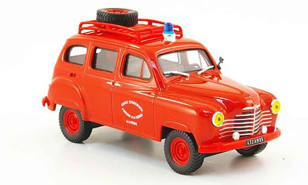 Renault Colorale 1/43 IXO 4x4 pompiers miniature
