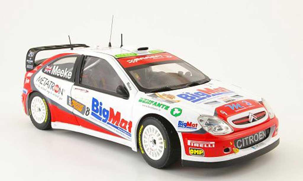 Citroen Xsara WRC 2008 1/18 Sun Star no.8 bigmat bologna motor show miniature
