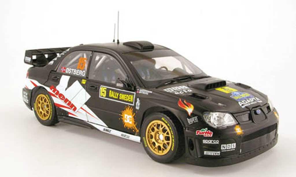 Subaru Impreza WRC 1/18 Sun Star 07 no.15 rallye schweden 2010 miniature