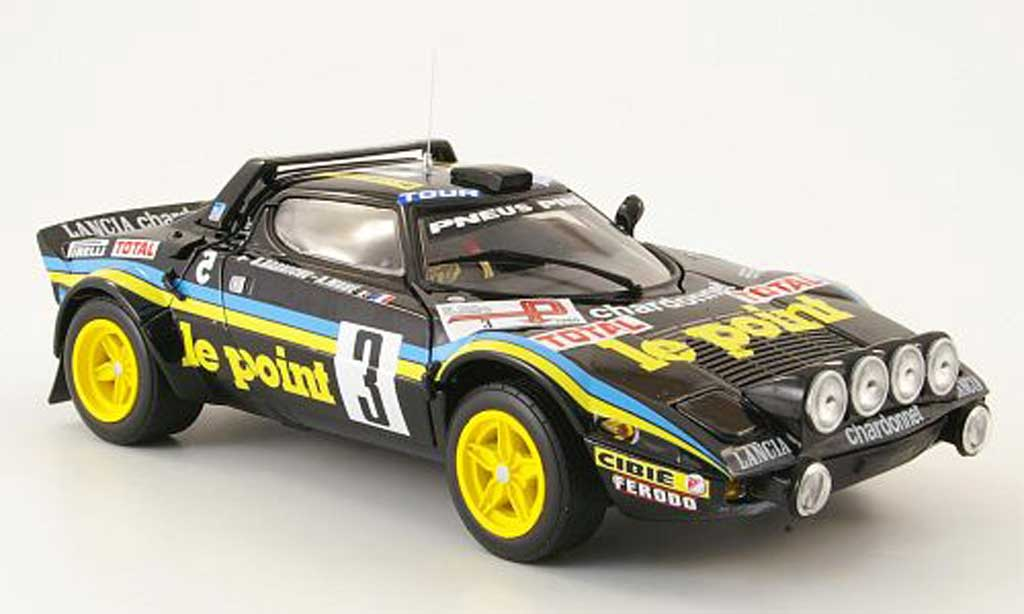 Lancia Stratos 1/18 Sun Star hf rallye no.3 le point tour de france 1980 miniature
