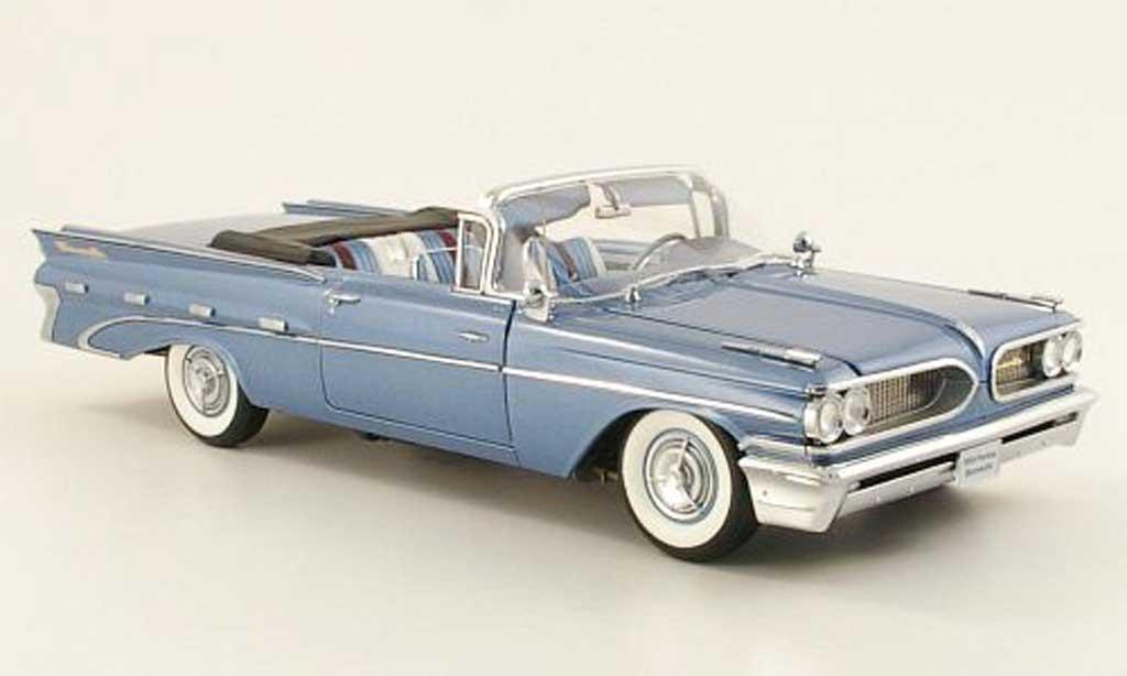 Pontiac Bonneville 1/18 Sun Star convertible bleu 1959 miniature