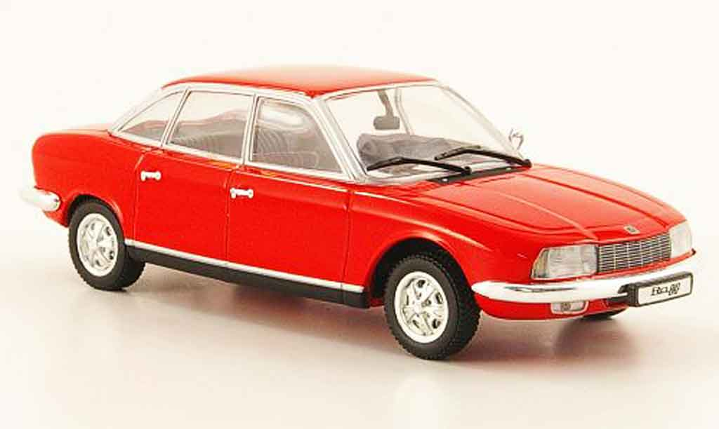 NSU RO 1/43 Minichamps 80 rouge 1972 miniature