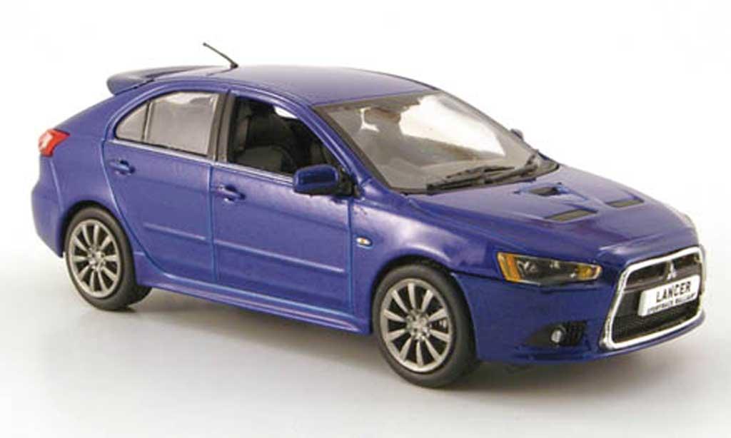 Mitsubishi Lancer 1/43 Vitesse Sportback RalliArt bleu miniature