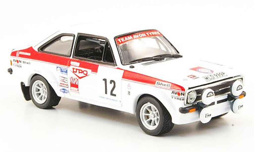 Ford Escort MK2 1/43 Vitesse MK2 No.12 Sieger 1000 Lakes Rally 1976 miniature
