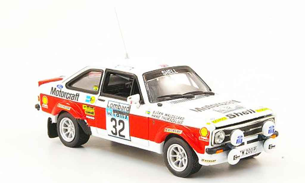 Ford Escort MK2 1/43 Vitesse MK2 No.32 Lombard RAC Rally 1976 miniature