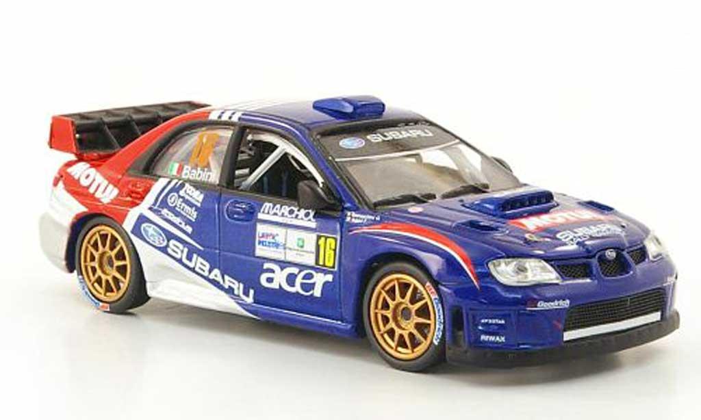 Subaru Impreza WRC 1/43 Vitesse 07 No.16 Motul Rally Monza 2009 miniature
