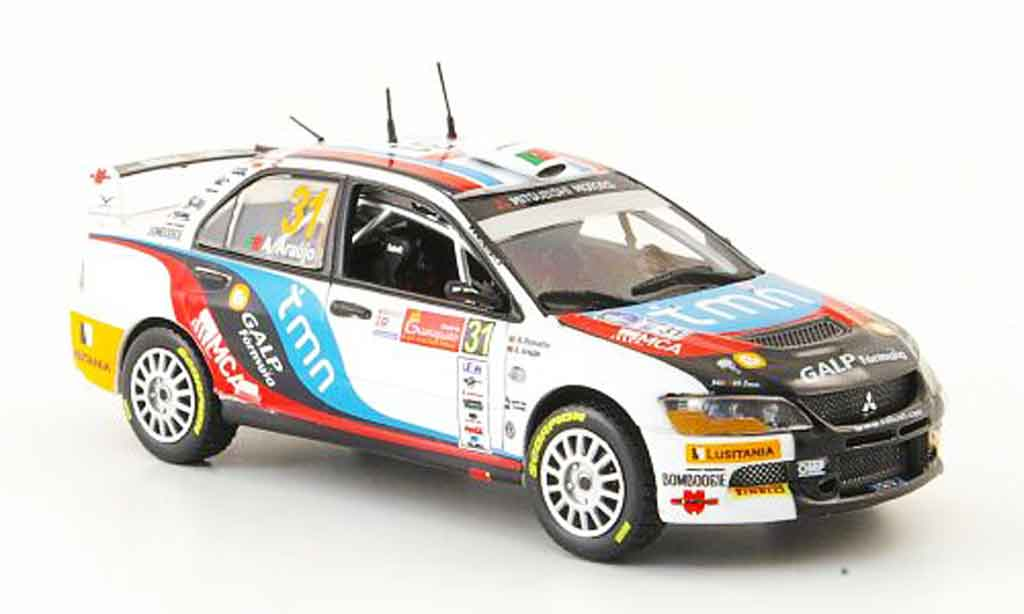 Mitsubishi Lancer Evolution IX 1/43 Vitesse No.31 Sieger PWRC Rally Mexiko 2010 miniature