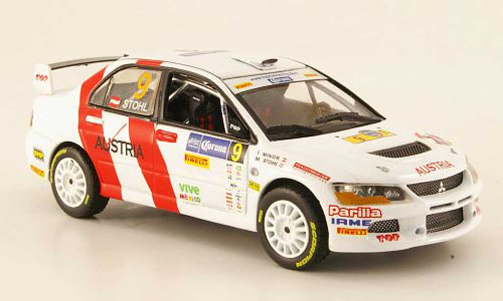 Mitsubishi Lancer Evolution IX 1/43 Vitesse No.9 Sieger Rally Mexiko  2009 M.Stohl / I.Minor miniature