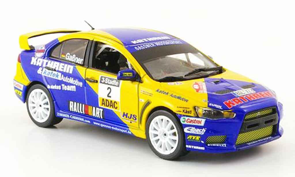 Mitsubishi Lancer Evolution X 1/43 Vitesse No.2 Kathrein Sieger ADAC Rally 2009 miniature