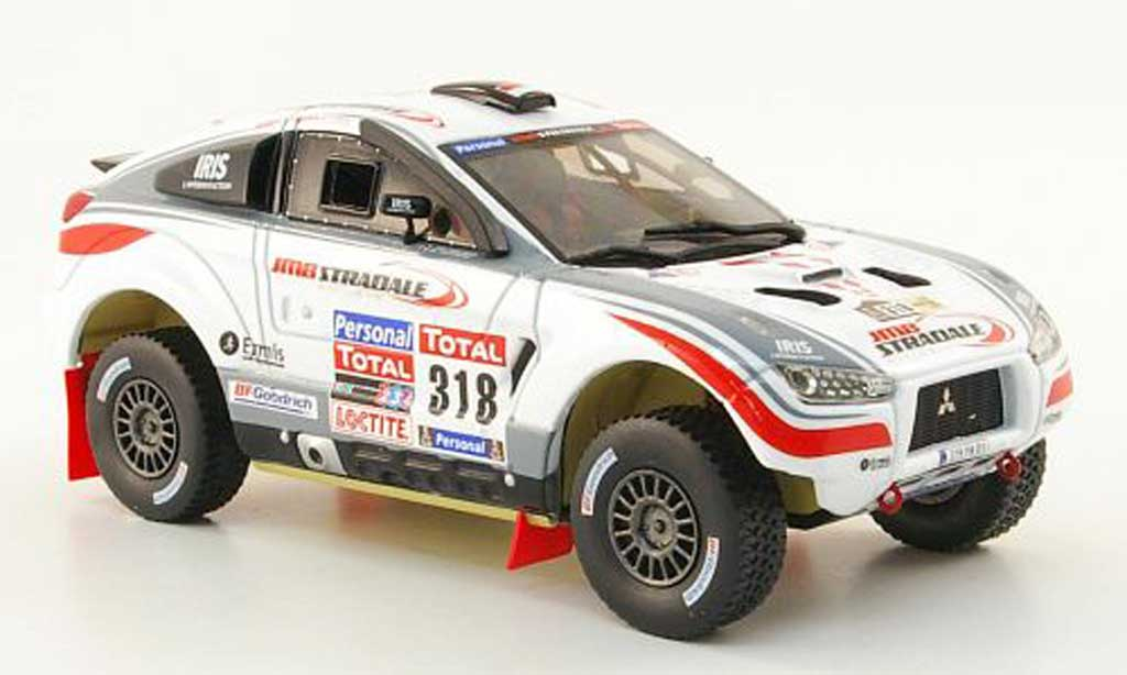 Mitsubishi Lancer 1/43 Vitesse No.318 JMB Stradale Rally Dakar 2010 miniature
