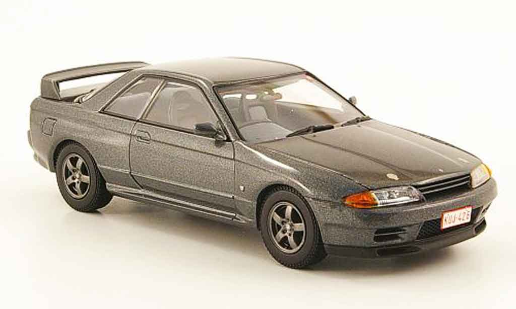 Nissan Skyline R32 1/43 Kyosho GT R grey diecast model cars